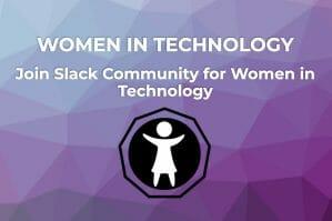Women in tech banner
